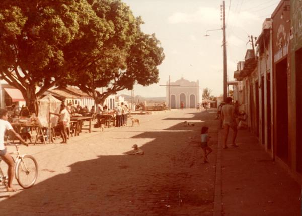 Praça José Vieira Gomes : Iaçu, BA - [19--]