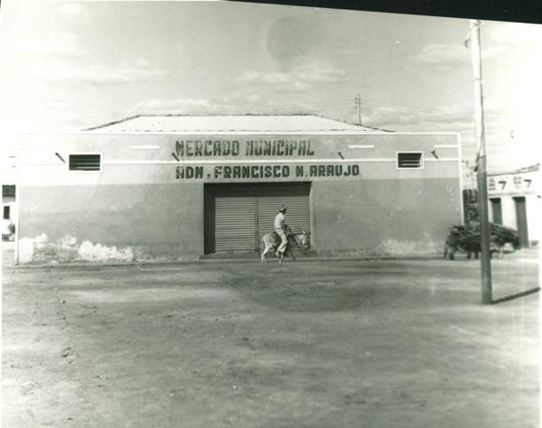 Mercado municipal : Ibipitanga, BA - [19--]
