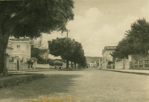 Avenida Rio Branco : Itaberaba, BA - 1957