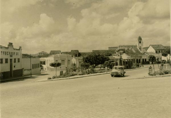 Praça J. J. Seabra : Itaberaba, BA - 1957