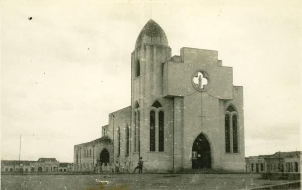 Igreja Matriz Nossa Senhora do Rosário : Itaberaba, BA - 1955