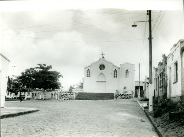 Igreja de Nossa Senhora do Rosário : Praça Antônio Carlos Magalhães : Itapitanga, BA - [19--]