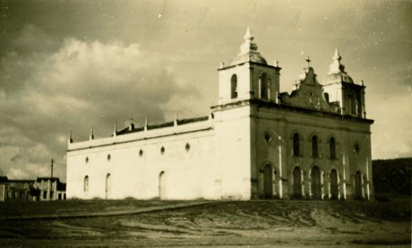 Igreja Matriz de São João Batista : Jeremoabo, BA - 1957