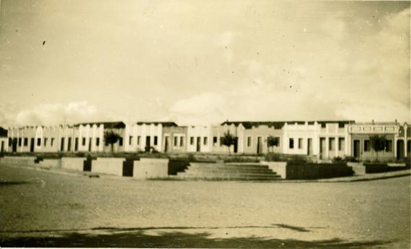 Praça Coronel Antônio Lourenço : Jeremoabo, BA - 1957