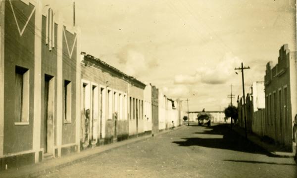 Rua Abdon Afonso : Jeremoabo, BA - 1957