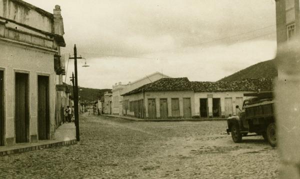 Rua Ruy Barbosa : Palmeiras, BA - 1957