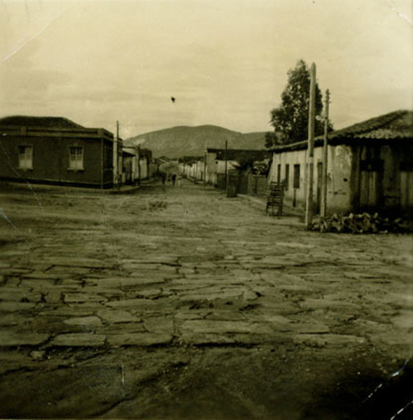 Rua 16 de Setembro : Paramirim, BA - 1957