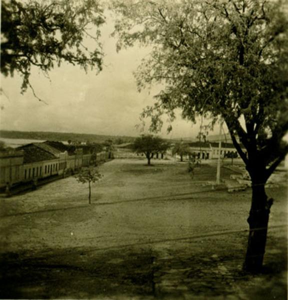 Praça Santo Antônio : Paramirim, BA - 1957