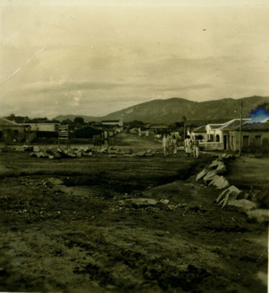 Praça do Rosário : Paramirim, BA - 1957