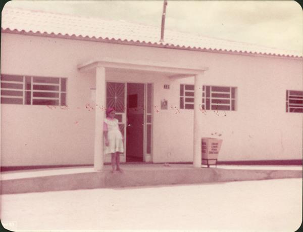Centro de Saúde Edézio Vaz : Nova Itarana, BA - 1983