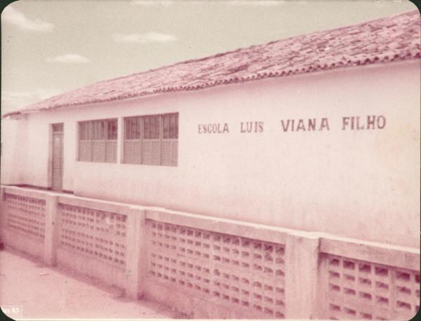 Escola Luís Viana Filho : Nova Itarana, BA - 1983