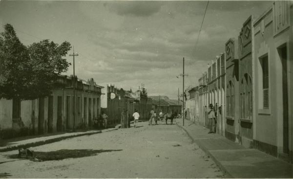 Rua Floriano Peixoto : Pilão Arcado, BA - 1957