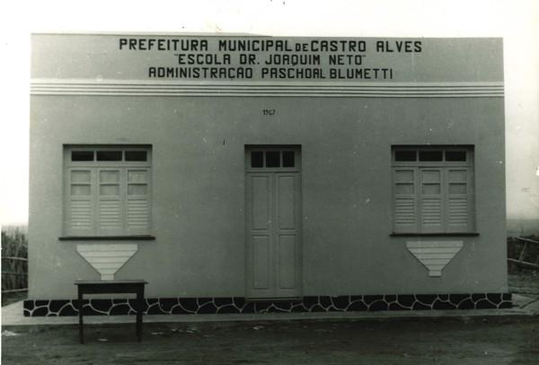 Escola Dr. Joaquim Neto : Rafael Jambeiro, BA - [19--]