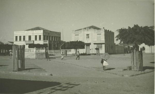 Praça Duque de Caxias : Prefeitura Municipal : Remanso, BA - 1957