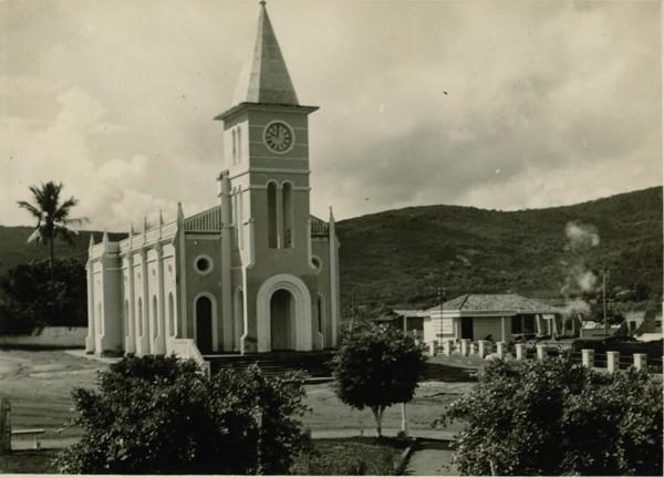 Igreja matriz : Santa Inês, BA - 1957