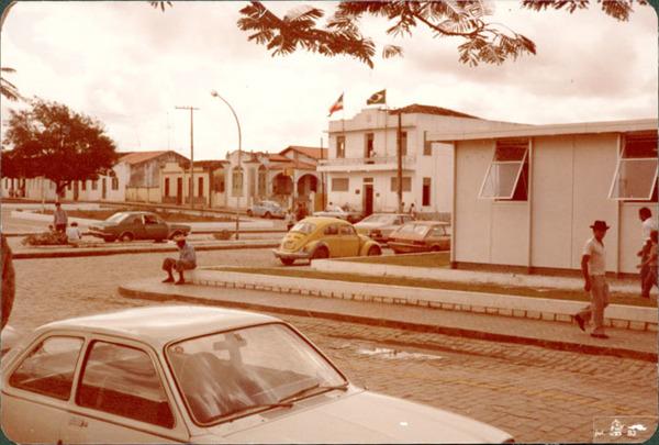 Praça Coronel José Leitão : Santaluz, BA - 1983
