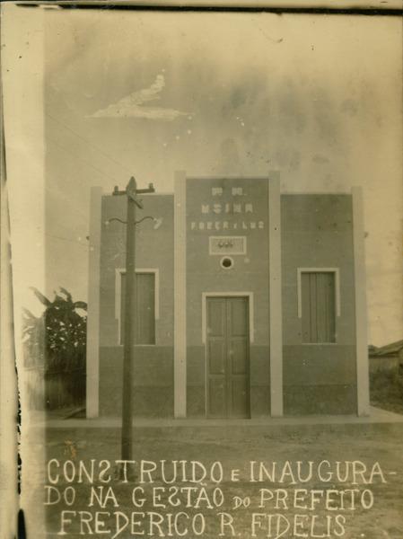Usina de Força e Luz : Santa Rita de Cássia, BA - [19--]