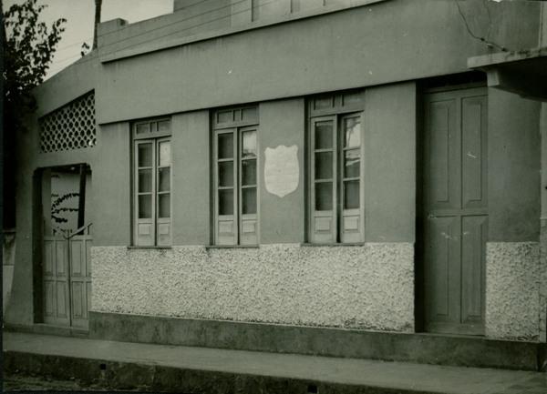 Casa importante no processo de Proclamação da República : Santo Antônio de Jesus, BA - 1957