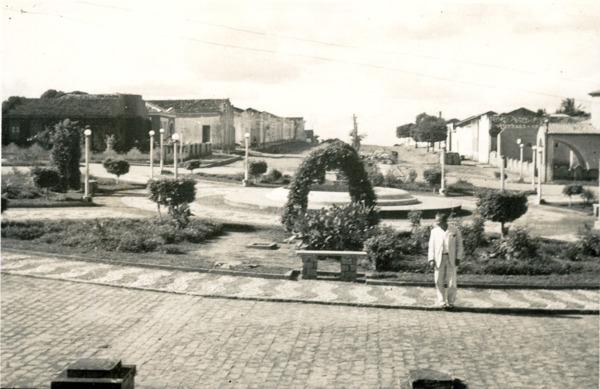 Praça Ruy Barbosa : Saúde, BA - 1957