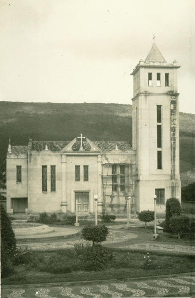 Igreja Matriz Nossa Senhora da Saúde : Saúde, BA - 1957