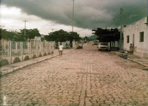 Avenida Padre Ibiapina : Abaiara, CE - 1984