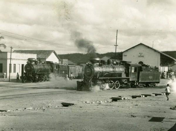 Estação Ferroviária da Rede Viação Cearense : Cedro, CE - [19--]