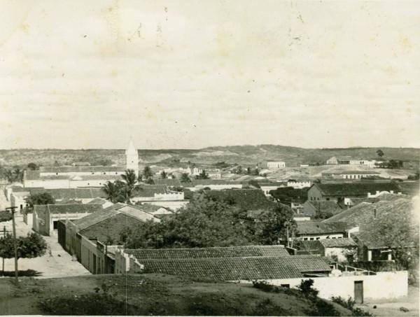 Vista panorâmica da cidade : Cedro, CE - [19--]