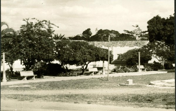Praça da Matriz : Guaraciaba do Norte, CE - [19--]