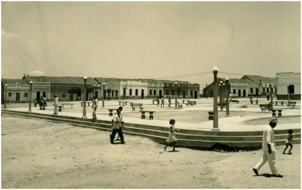Praça Marilândia : Jaguaretama, CE - [19--]