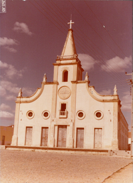 Igreja Matriz : Jaguaribara, CE - 1983