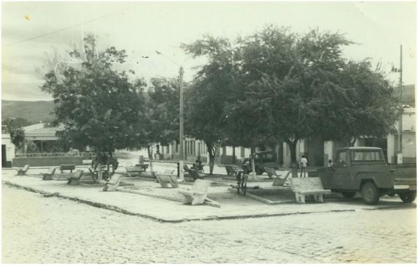 Praça Cap. Plácido : Nova Olinda, CE - [19--]