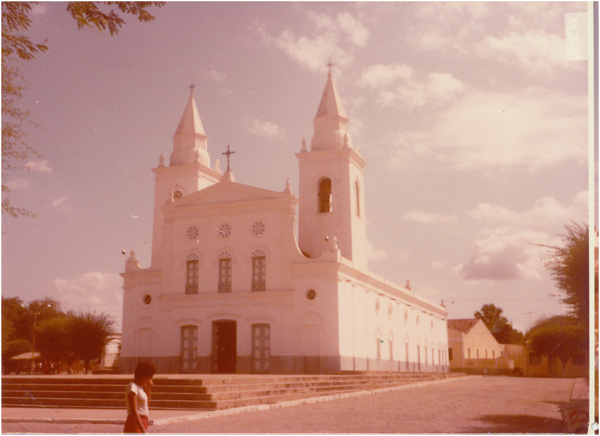 Igreja Matriz de Santo Antônio de Pádua : Quixeramobim, CE - [19--]