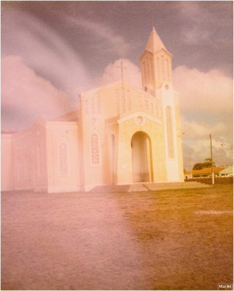 Paróquia de Nossa Senhora Sant'ana : Paramoti, CE - 1984