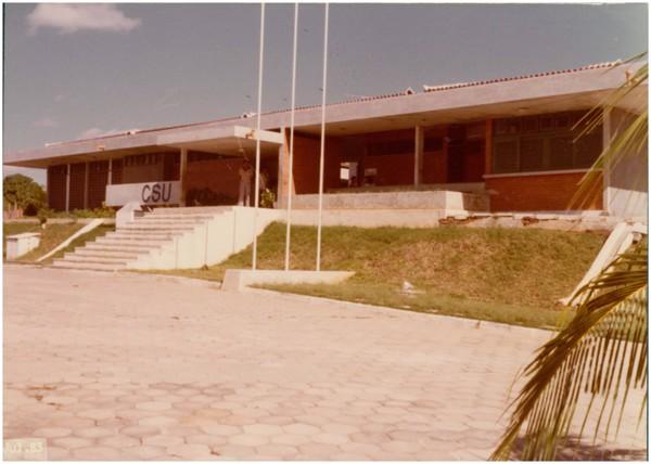 Centro Social Urbano : Senador Pompeu, CE - 1983