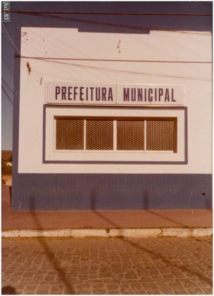 Prefeitura Municipal : Senador Pompeu, CE - 1983