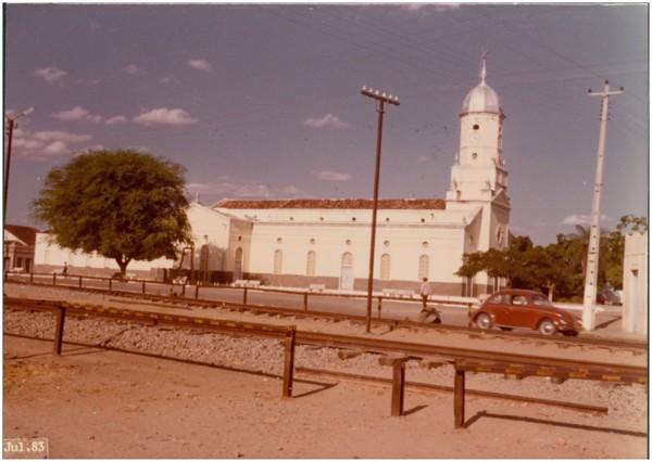 Igreja Matriz de Nossa Senhora das Dores : Senador Pompeu, CE - 1983