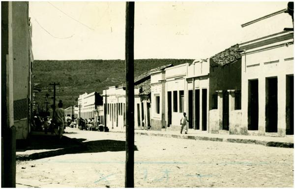 Rua Dr. José Augusto : Santana do Cariri, CE - [19--]