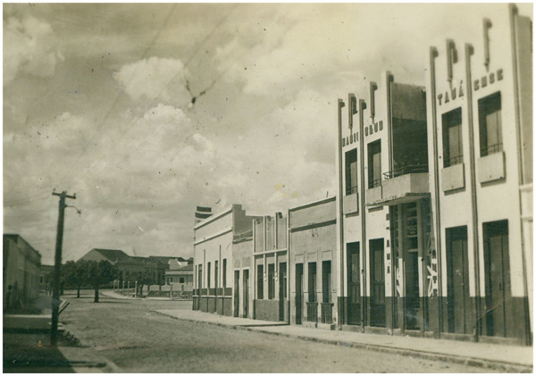 Rua Fausto Barreto : Rádio Clube Tauáense : Tauá, CE - [19--]