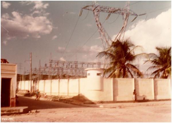 Estação Abaixadora da CHESF : Milagres, CE - 1984