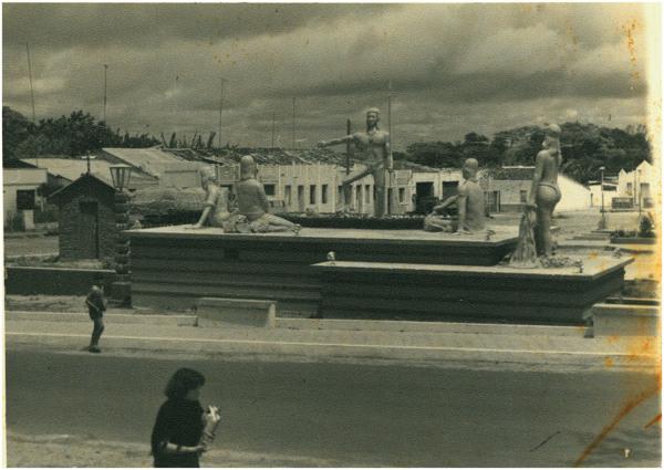 Praça Nação Tabajara : São Benedito, CE - [19--]