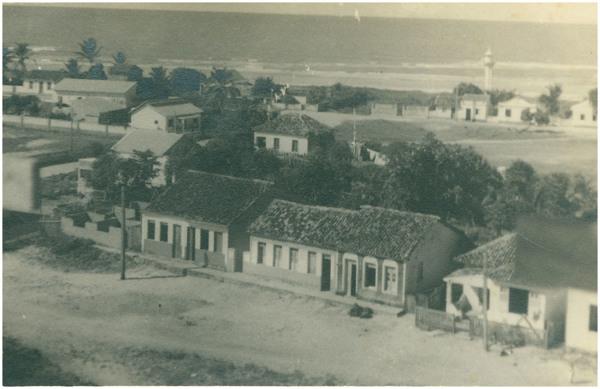 Vista parcial da cidade : Conceição da Barra, ES - [19--]