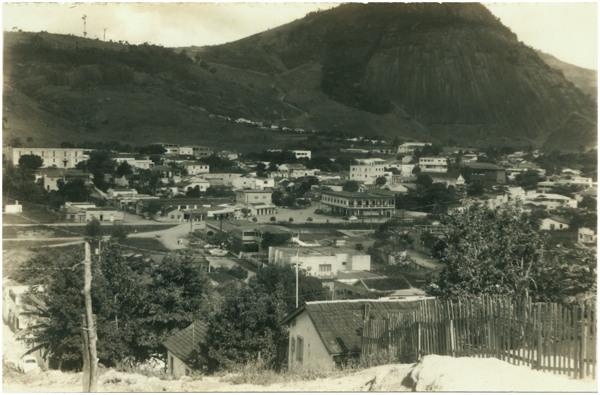 Vista panorâmica da cidade : Ecoporanga, ES - [19--]