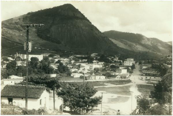 Vista panorâmica da cidade : Av. Milton Mota : Ecoporanga, ES - [19--]