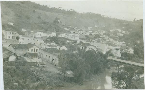 Vista panorâmica da cidade : Afonso Cláudio, ES - [19--]
