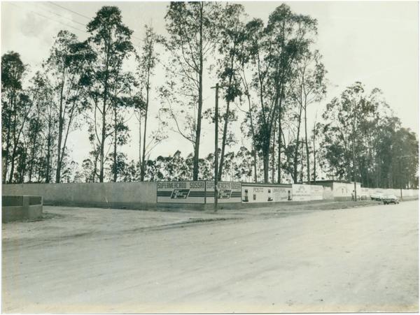 Estádio municipal : Jaguaré, ES - [19--]