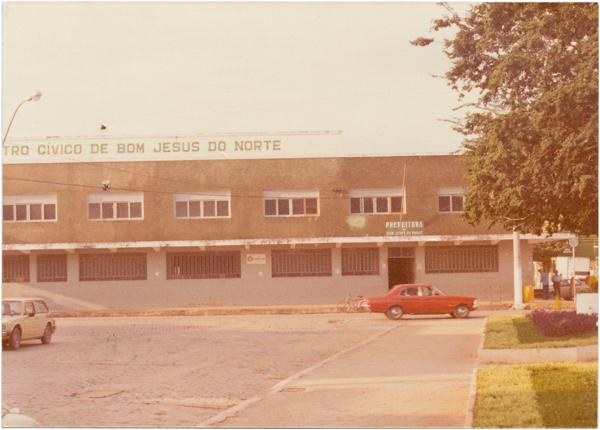 Centro Cívico : Prefeitura Municipal : Bom Jesus do Norte, ES - [19--]