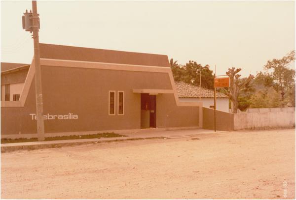 Posto telefônico da Telebrasília : Cavalcante, GO - 1983