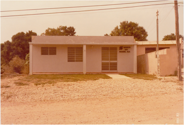 Banco do Brasil S.A. : Cavalcante, GO - 1983