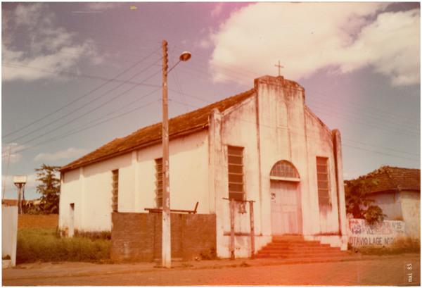 Igreja do Divino Pai Eterno : Água Limpa, GO - 1983