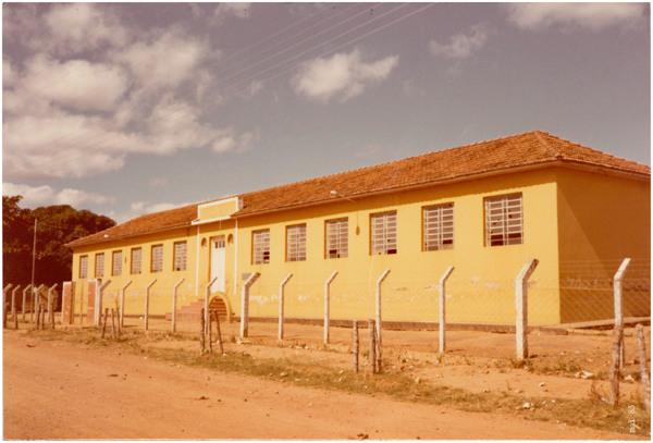 Colégio Estadual Bernardino Guimarães : Água Limpa, GO - 1983